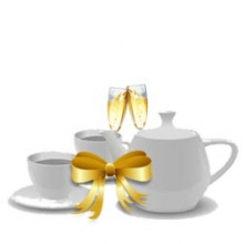 Champagne Afternoon Tea for 1 Voucher Product Img
