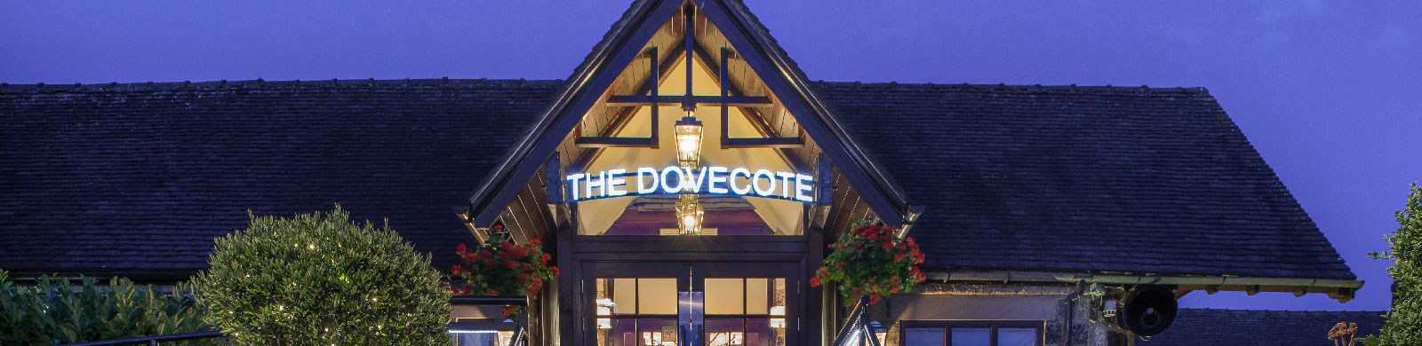 Dine in the Dovecote Restaurant