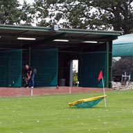 The driving range