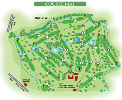 The Manor Course Morley Hayes Golf Hotel and Restaurants Derbyshire