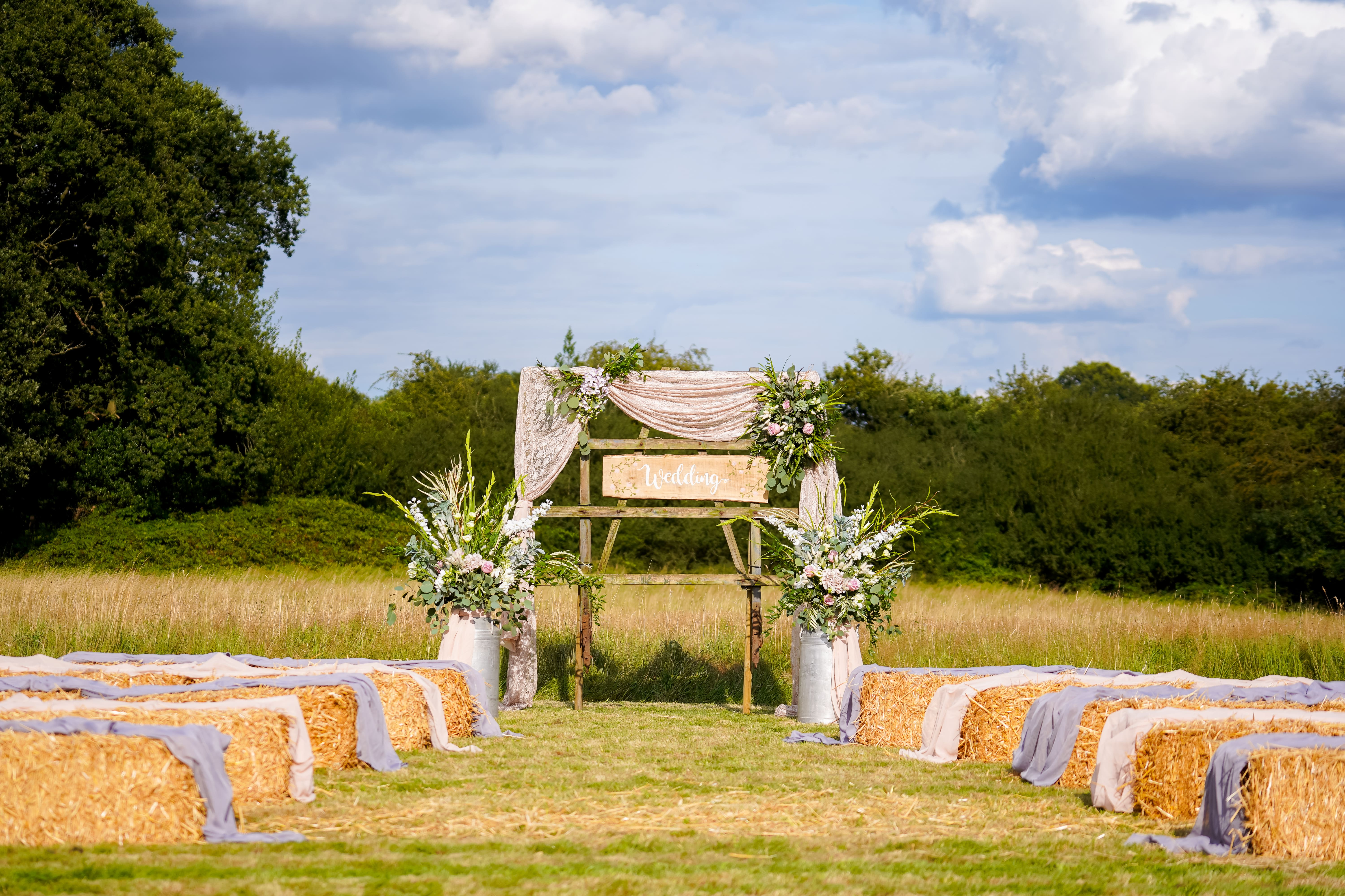 Morley Hayes Meadow Wedding